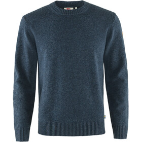 Fjällräven Övik Round-neck Sweater Men navy
